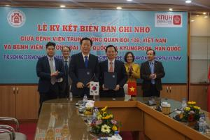 [Vietnam] Signing ceremony of MOU with 108 Military Central Hospital 관련사진